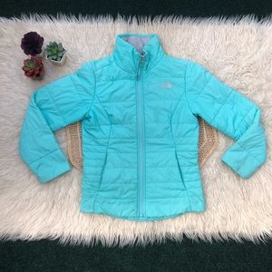 North Face Girls Harway Jacket Mint Blue